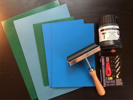 Lino Cut Supplies
