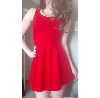 New Red Party Dress Small