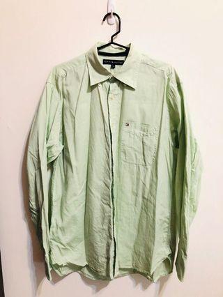 🚚 Tommy Hilfiger 淺綠襯衫 #半價衣服特賣會