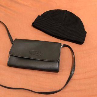 Asos 黑短毛帽 ➕ vans 肩背包 #半價衣服特賣會