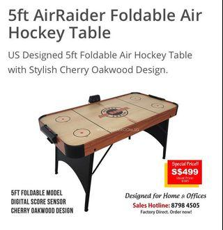 5ft Foldable Air Hockey Table