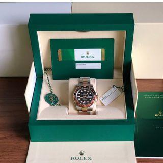 BNIB Rolex Rootbeer 126711CHNR - April 2019