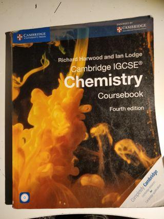 IGCSE CHEMISTRY TEXT BOOK
