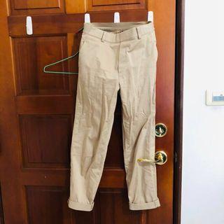 🚚 Uniqlo 緞面布料休閒褲 S #半價衣服拍賣會