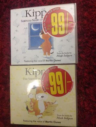 KIPPER ORIGINAL VCDs