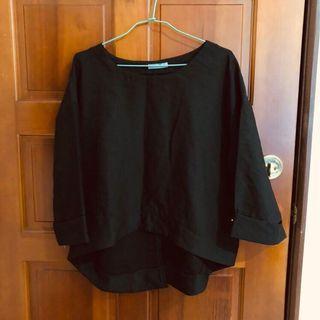 🚚 Meier q. 黑色上衣 #半價衣服拍賣會