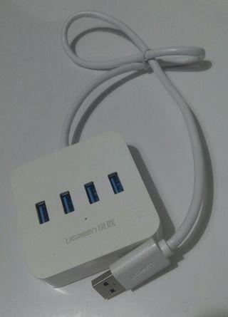 UGTEEN USB 3.0 Hub 4 Ports