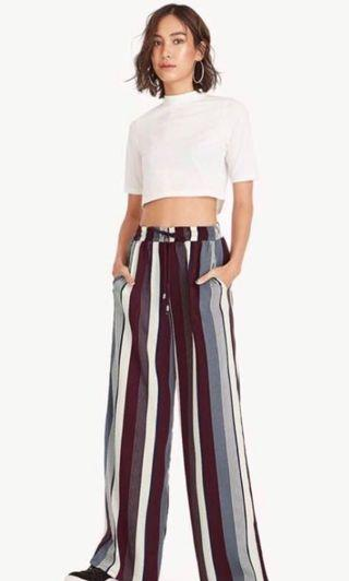 Pomelo Jill striped pants