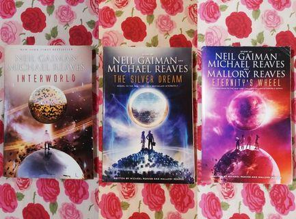 Interworld trilogy by Neil Gaiman