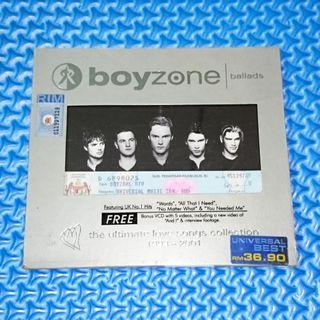 🆒 Boyzone - Ballads: The Ultimate Love Songs Collection 1993~2001 [2001] Audio CD+VCD