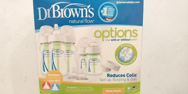 Dr Brown's Options Newborn Feeding Set (WIDE-NECK)