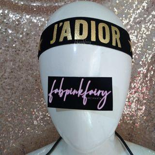 2pcs left! J'adior Turban J'adior Headband CLEARANCE SALE Dior Headband Dior Turban Dior Hair Accessory Headband for Gym Star Design