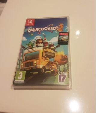 Overcooked 2 nintendo switch game