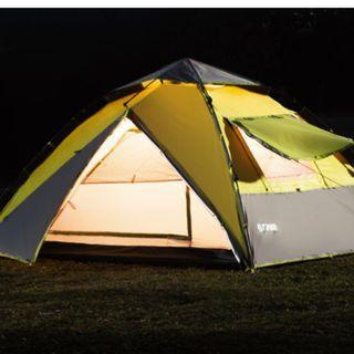 4 人 帳篷 戶外露營 全自動 camping tent for four