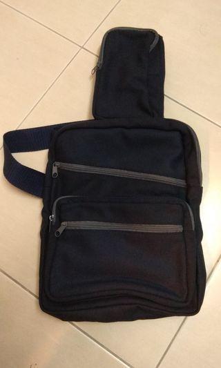Crossbody bag sling bag dark blue IKEA Nike Adidas Prada