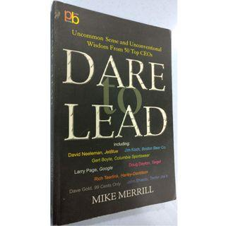 Dare To Lead (By Mike Merrill)