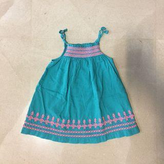 DpAM 9mos baby smock dress