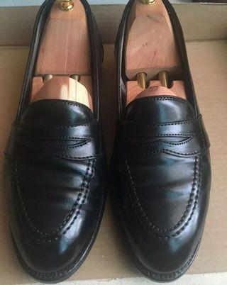 Alden Shell Cordovan Black loafer 9B/D