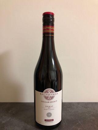 Red Wine Shiraz 2015