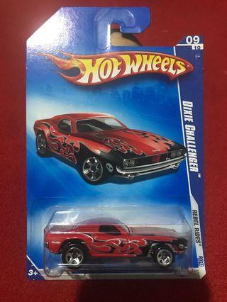 Hot Wheels Dixie Challenger Rebel Rides