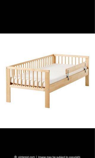 🚚 Ikea Bed Frame and Mattress Gulliver