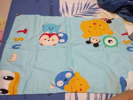 Self tailored blue tsum tsum pillowcase