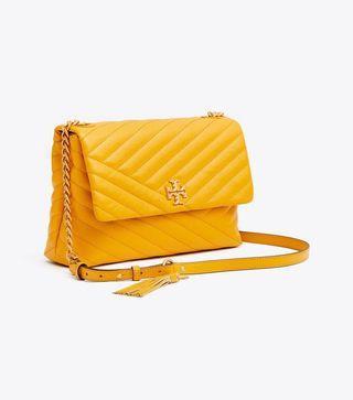 Authentic Tory Burch 53102 Kira Chevron Flap Shoulder Bag