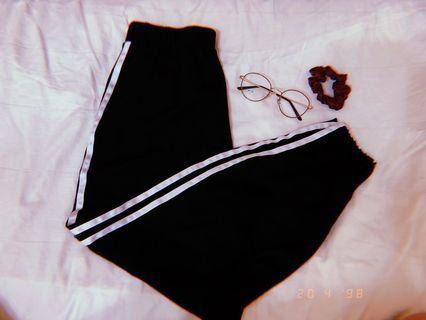 yishon long striped pants