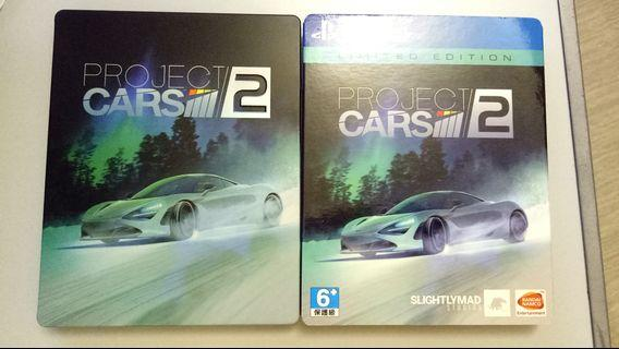 PS4 Game 遊戲 Project Cars 2 鐵盒中英文合版
