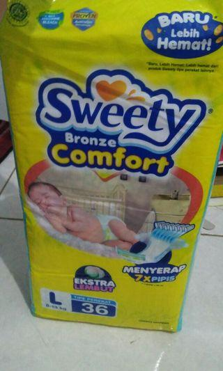 Sweety bronze diapers L36