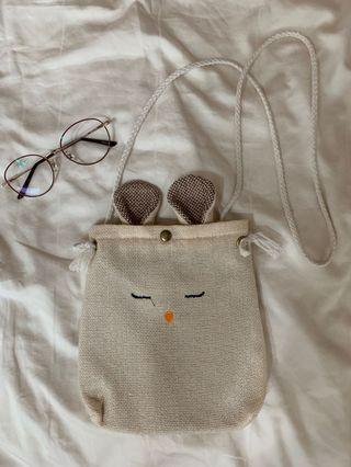 Small rabbit Sling Bag