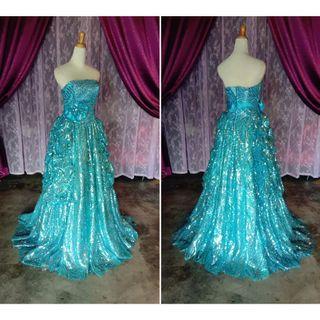 (Code-132) Dress / Gown / Dinner / Wedding