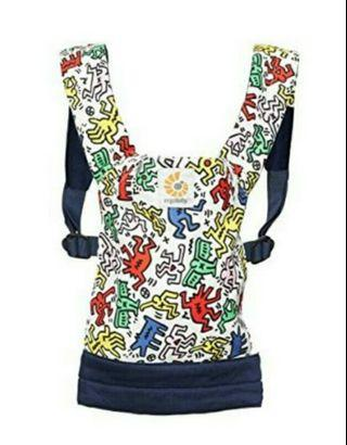 🌟Limited Quantity🌟BNIP Ergobaby Doll Carrier - Keith Haring Color Pop