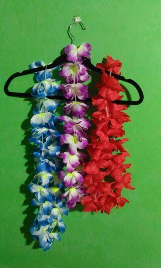 Hawaiian Themed Garlands Lei's Tropical Floral Necklace