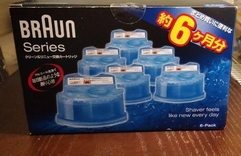 Braun百靈日版清潔液6盒補充