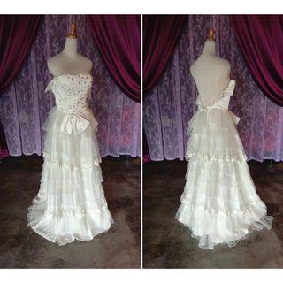 (Code-205) Dress / Gown / Dinner / Wedding