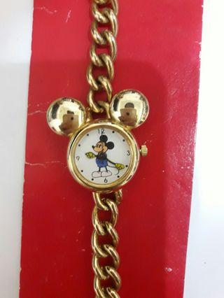 🚚 米奇金屬鏈錶