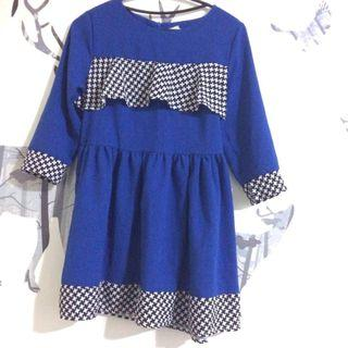 🚚 賽車女孩時髦短洋裝#半價衣服拍賣會