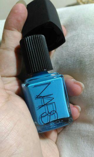 Authentic NARS Blue Nail Polish