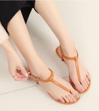🚚 韓國3035皮革涼鞋
