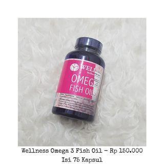 Wellness fish oil 1000 omega 3
