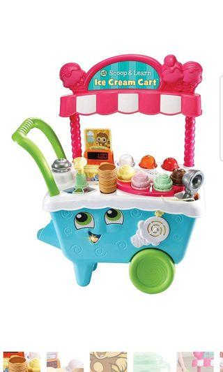 🚚 BNIB Leapfrog Scoop & Learn Ice Cream Cart