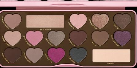 🚚 Too Faced Chocolate Bon Bons Eyeshadow Palette (used)
