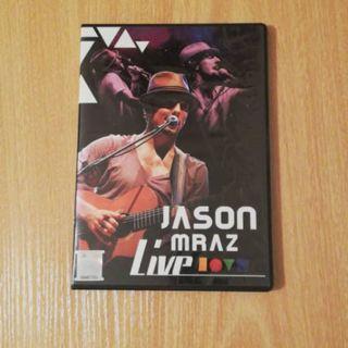 *ORIGINAL - JASON MRAZ Live Love Is A Four Letter Word DVD