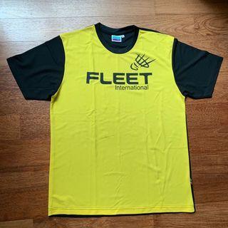 Men's Fleet badminton shirt