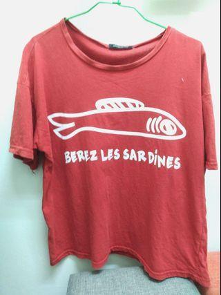 🚚 小魚干T恤
