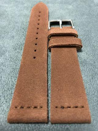 SALE Vintage Heritage Suede Brown Watch Leather Straps