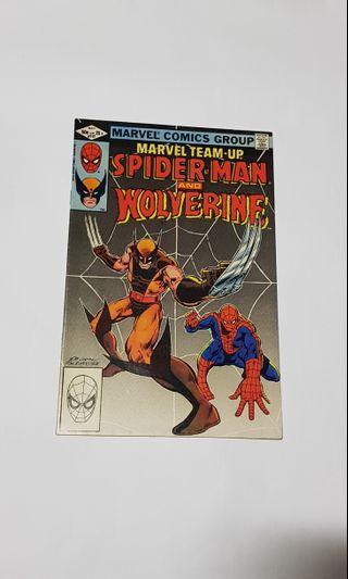 Marvel Team Up 117 Spider-man & Wolverine #EndgameYourExcess