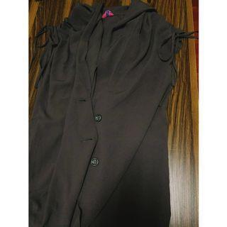 🚚 專櫃MISSO 連帽 長版 外搭背心 #半價衣服拍賣會