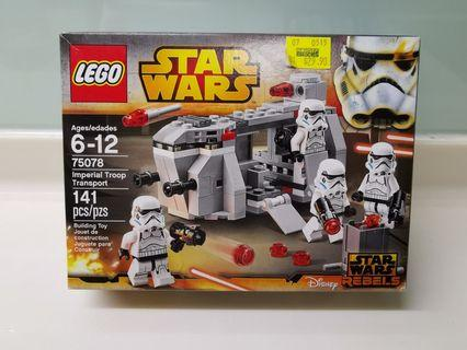 Lego star wars stormtroopers Imperial troop transport